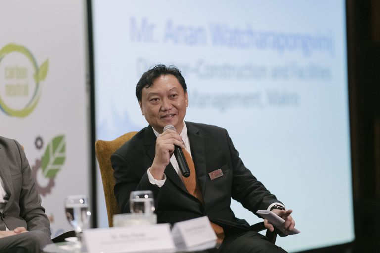Anan Watcharapongvinij, Ph.D., Director-Construction and Facilities Management, SIAM MAKRO PLC. Photo by GIZ.